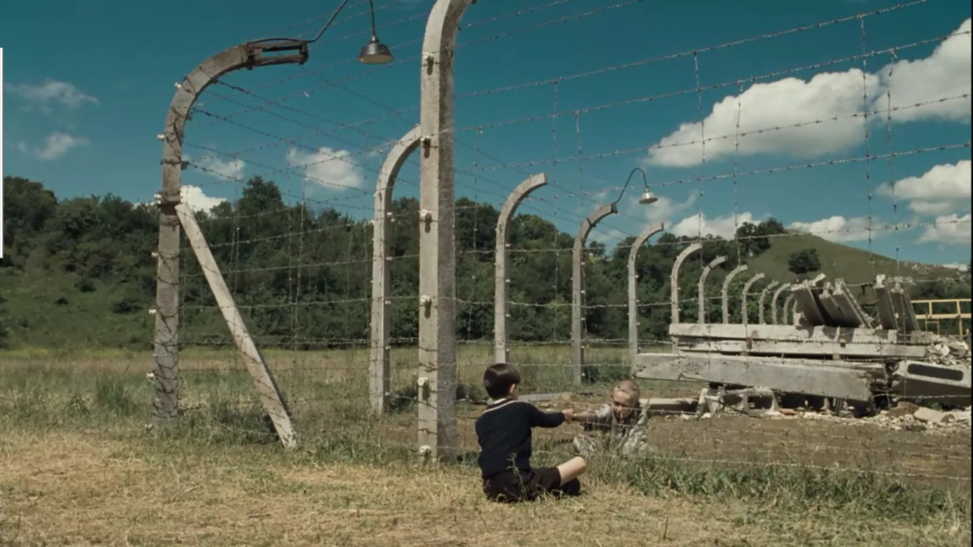 key moment of the boy the striped pajamas process of making it was a contrast between this event and another scene which pavel a jewish labour in bruno s house was hit badly because of accidentally falling the